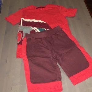 Tea outfit sz 8-10 boys